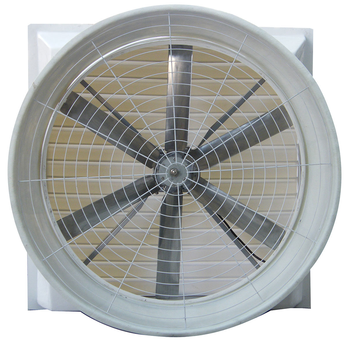 low price 13500 ~ 110000 CMH packaging plant electric ac exhaust fan for workshop